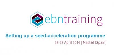 Setting up a seed-acceleration programme