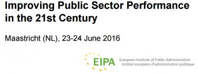 Improving Public Sector Performance in the 21st Century