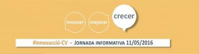 Programa de la Jornada informativa sobre la iniciativa #innovacci�-CV