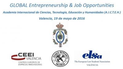 Global Entrepreneurship & Job Opportunities