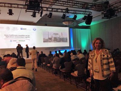 HIDMO, única empresa consultora española en la Conferencia