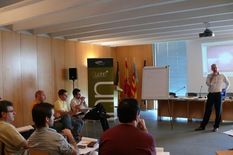 Workshop de negociación, Clubinn Castellón