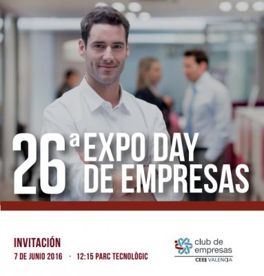 Folleto Expo Day CEEI Valencia 2016
