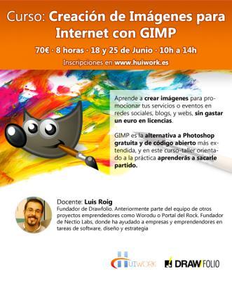 Curso: Creaci�n de Im�genes para Internet con GIMP