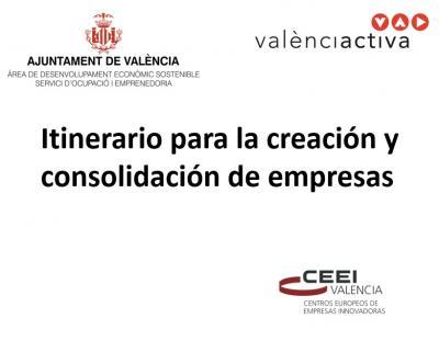 Itinerario para la creación y consolidación de empresas
