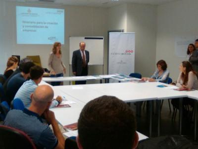 Inauguraci�n curso itinerario para la creaci�n y consolidaci�n de empresas