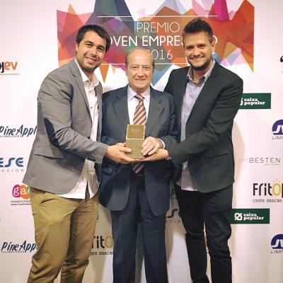 Casfid gana Premio Joven Empresa Innovadora