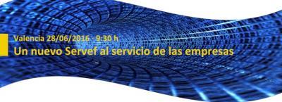 """Programa de la Jornada """"Un nuevo Servef al servicio de las empresas"""""""