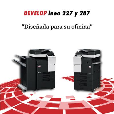 multifunción laser develop ineo 227