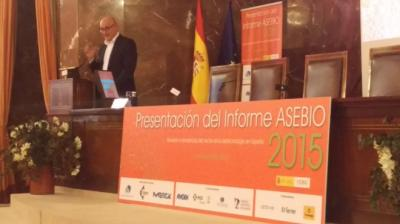 Foto presentaci�n Informe 2015 ASEBIO