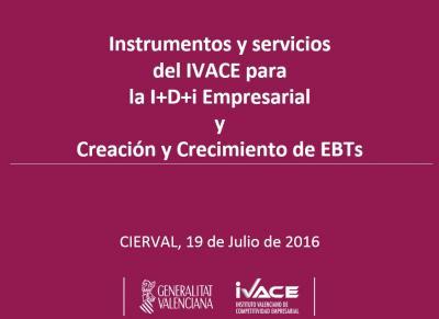 Iniciativas y apoyo en el �mbito regional: Creaci�n Empresas Base Tecnol�gica