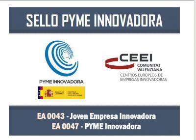 Sello Pyme Innovadora. Joven Empresa Innovadora