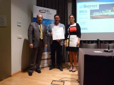 Bionos Biotech recibe el reconocimiento EIBT de ANCES