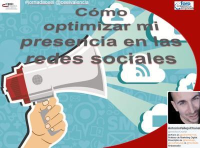 """""""C�mo optimizar mi presencia en las redes sociales"""""""