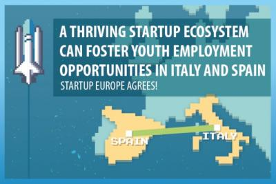 Building a stronger startup ecosystem could help tackle youth unemployement