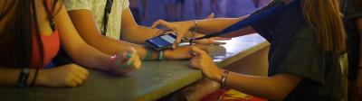 Cashless payment en festivales