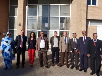 Visita delegación Mauritania