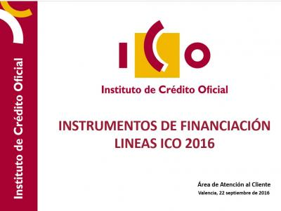 Instrumentos de Financiaci�n ICO