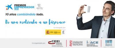 Entrega de los Premios EmprendedorXXI Comunitat Valenciana 2016