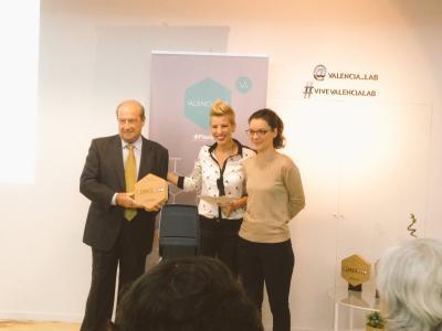 CEEI Valencia recibe el reconocimiento de ValenciaLab