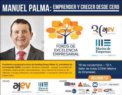 Foro AJEV - MArina de Empresas con Manuel Palma