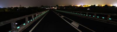 Sistema de balizamiento nocturno 100% sostenible Nightway