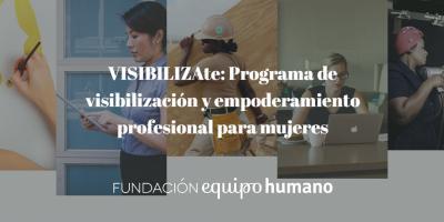 Programa VISIBILIZAte para mujeres