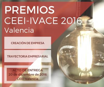 Acto de Entrega Premios CEEI IVACE 2016