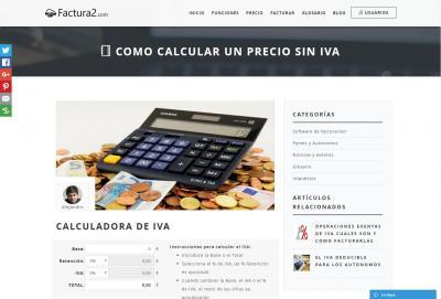calcular IVA