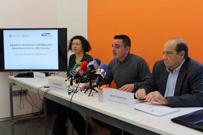 El Ayuntamiento de Alzira y CEEI Valencia firman un convenio