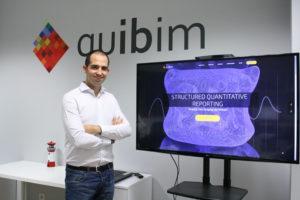 Ángel Alberich, CEO de QUIBIM