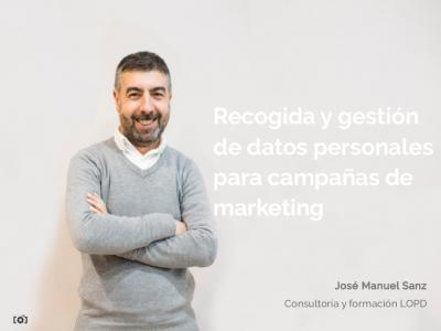 Guía descargable: recogida y gestión de datos personales para campañas de marketing