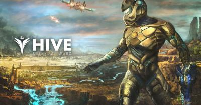 Imagen artística HIVE PlayStation 4