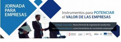 Programa: Jornada instrumentos para potenciar el valor de las empresas
