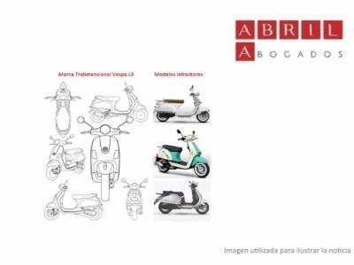 Sentencia Piaggio: distintividad de la marca tridimensional de la Vespa LX y Copyright