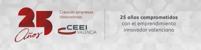 Banner 25 Aniversario CEEI Valencia