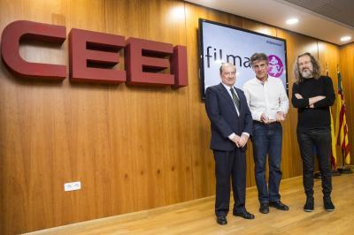Filmac recoge el reconocimiento otorgado por CEEI Valencia #25añosceei