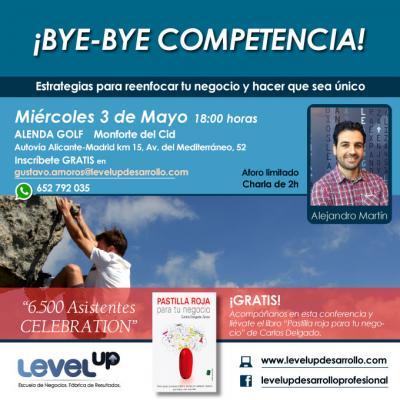 Bye Bye Competencia 3 Mayo