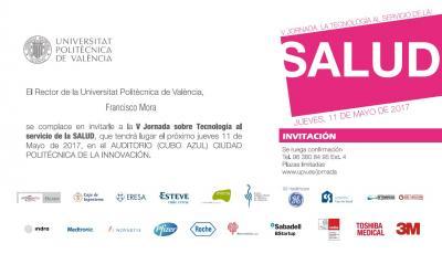 Programa V Jornadas sobre Tecnología al Servicio de la Salud