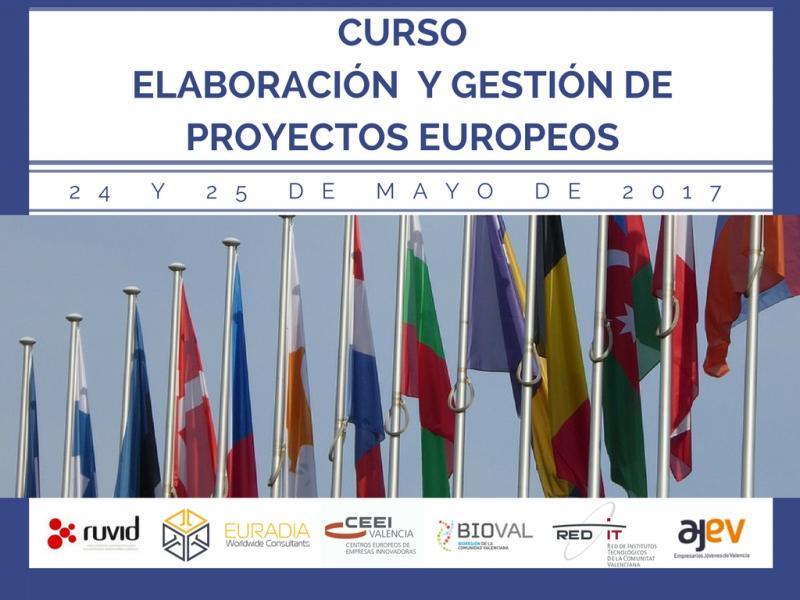 Curso elaboración y Gestión de Proyectos. 24 y 25 de mayo