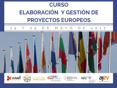 Curso Elaboración y Gestión Proyectos Europeos