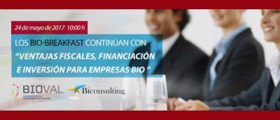 Biobreakfast 24 mayo 2017