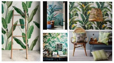El estilo botánico en el hogar