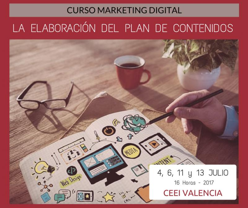 Curso: Cómo crear un plan de contenidos de marketing digital