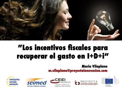 Ponencia incentivos fiscales para recuperar el gasto enI+D+i