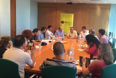 Rueda de prensa de presentación de Focus Pime Horta Sud