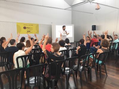 Sesión de Videomarketing en Focus Pyme y Emprendimiento Horta
