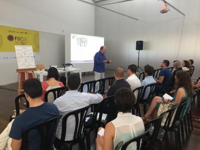 Sesión con Ricardo Almenar en Focus Pyme y Emprendimiento Horta