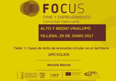 Ponencia Focus Upcyclick