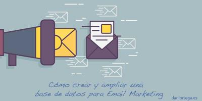 Crear bases de datos email marketing